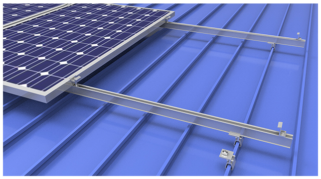 Metal Roof Solar Clamps