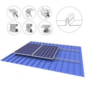 metal roof solar mounting systems supplier