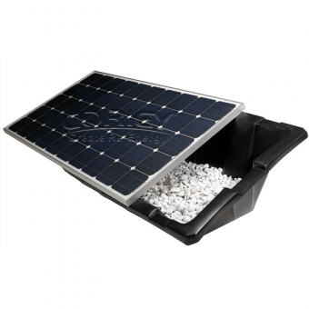 Plastic Ballasted Roof Mounting System for Solar Panels