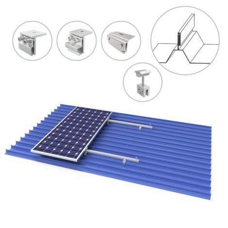 Metal Roof Solar Panel Mounting Brackets